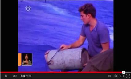 דן מנור ז״ל בקטע מסרט נדיר באח״י תנין (1963 משוער)